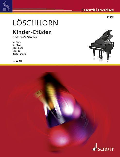 Children's Studies op. 181 Loeschhorn, Carl Albert