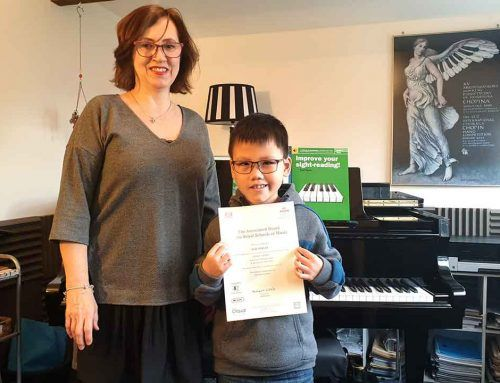 ABRSM Grade 1 Exam Distinction