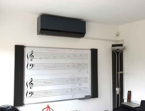 Piano Studio Update: Air Conditioning