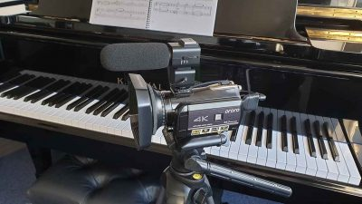 Piano Studio Video Camera