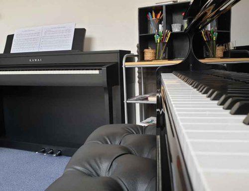 Piano Studio Update – Kawai CN-39