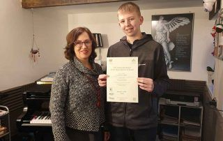 Lawrie ABRSM Grade 2 Distinction
